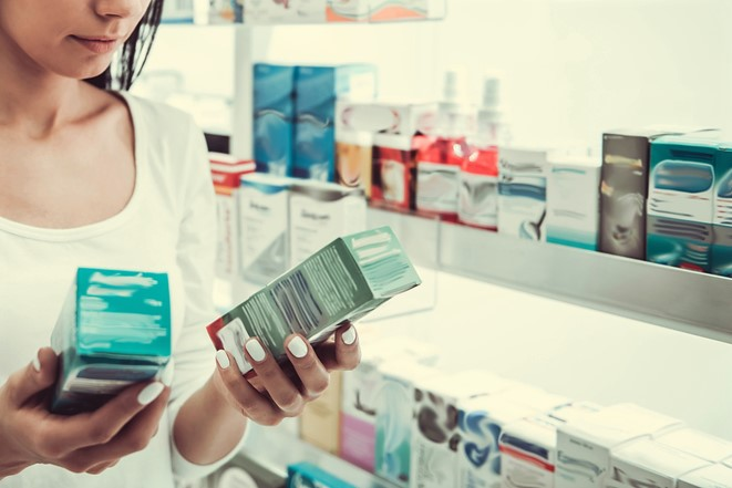 looking at pharmaceutical packaging_cropped